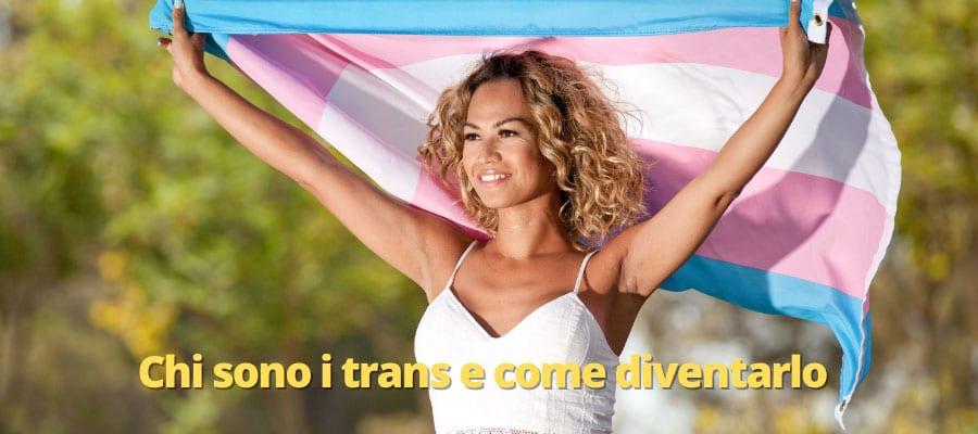 transessuale alza bandiera